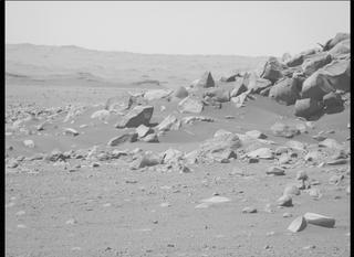 View image taken on Mars, Mars Perseverance Sol 112: Left Mastcam-Z Camera