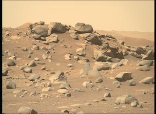 View image taken on Mars, Mars Perseverance Sol 112: Right Mastcam-Z Camera