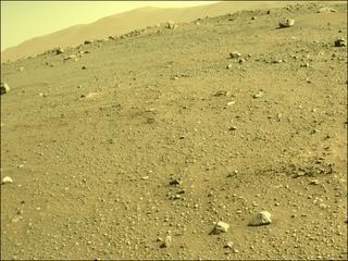 View image taken on Mars, Mars Perseverance Sol 113: Front Left Hazard Avoidance Camera (Hazcam)