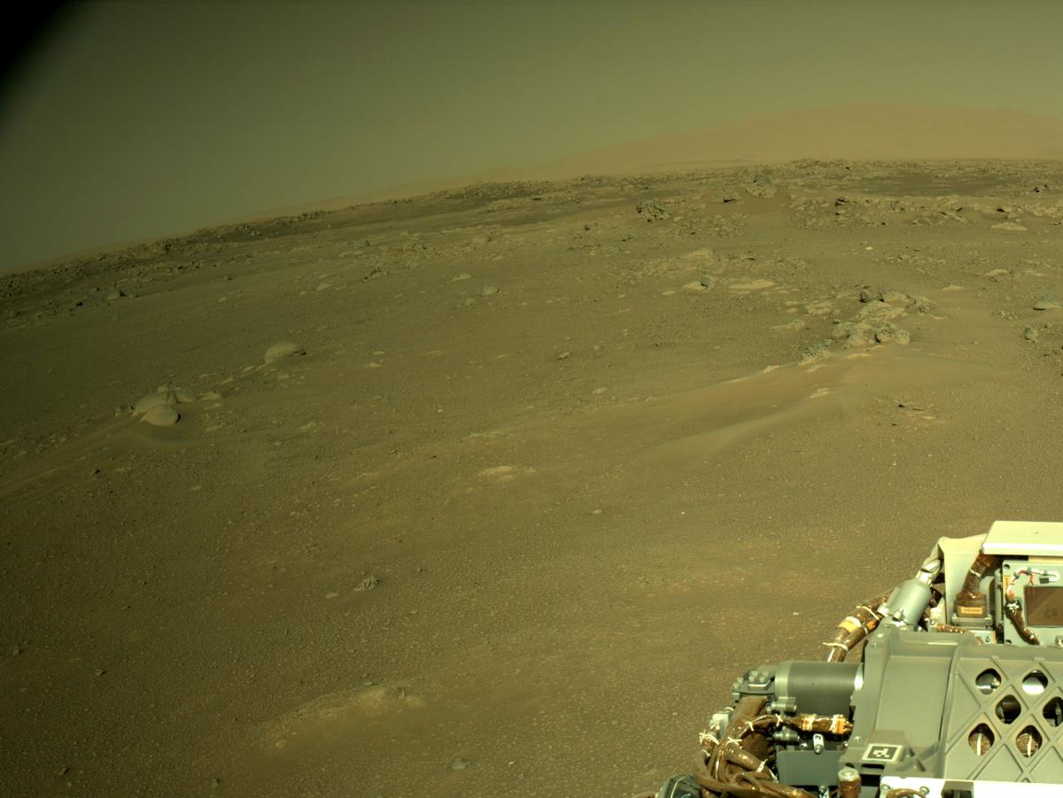 This image was taken by NAVCAM_RIGHT onboard NASA's Mars rover Perseverance on Sol 113