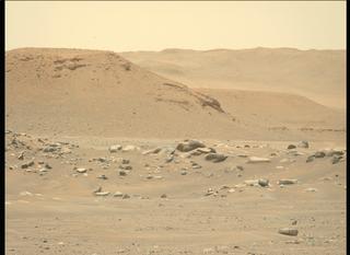 View image taken on Mars, Mars Perseverance Sol 113: Left Mastcam-Z Camera