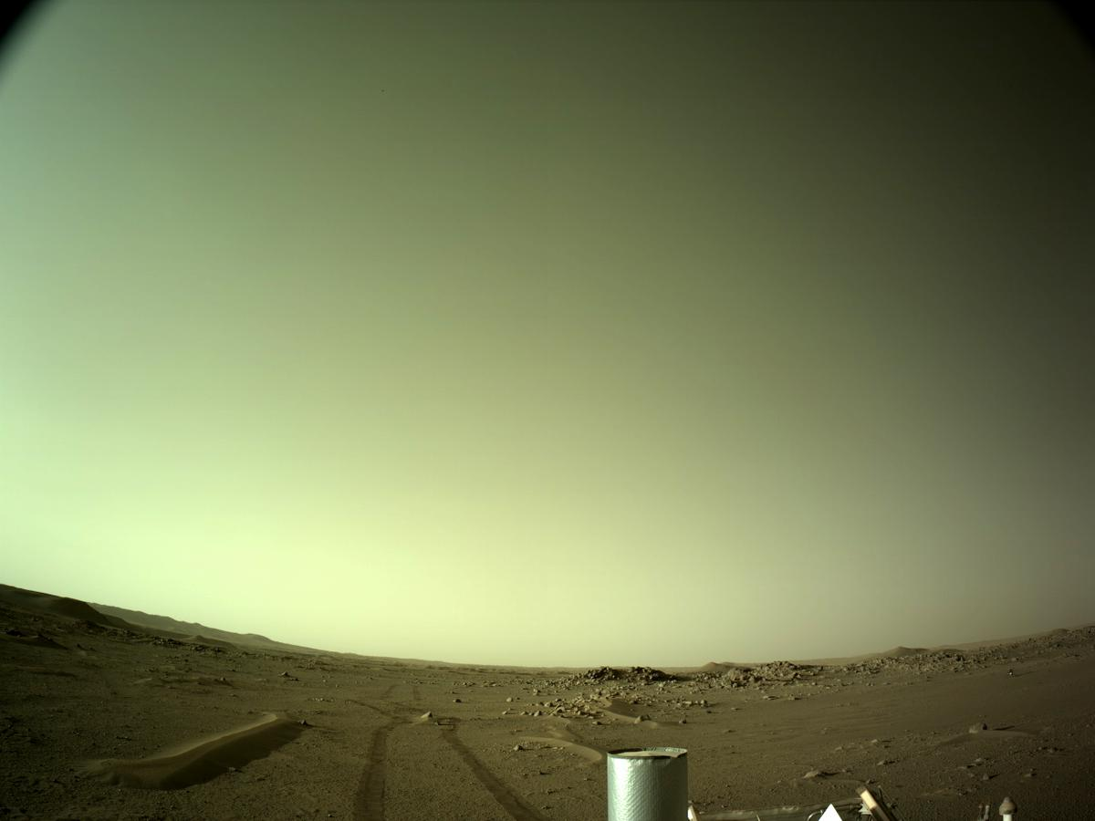 This image was taken by NAVCAM_LEFT onboard NASA's Mars rover Perseverance on Sol 114