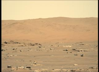 View image taken on Mars, Mars Perseverance Sol 114: Left Mastcam-Z Camera