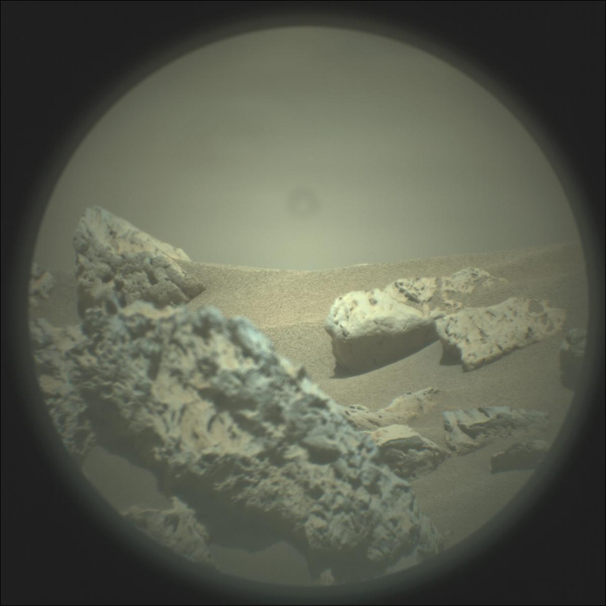 This image was taken by SUPERCAM_RMI onboard NASA's Mars rover Perseverance on Sol 115
