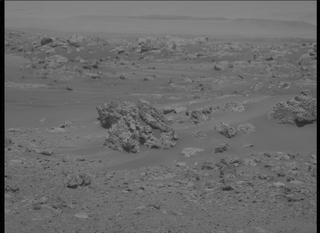 View image taken on Mars, Mars Perseverance Sol 115: Left Mastcam-Z Camera