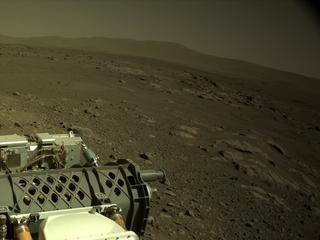View image taken on Mars, Mars Perseverance Sol 116: Left Navigation Camera (Navcam)