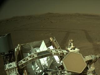 View image taken on Mars, Mars Perseverance Sol 116: Right Navigation Camera (Navcam)