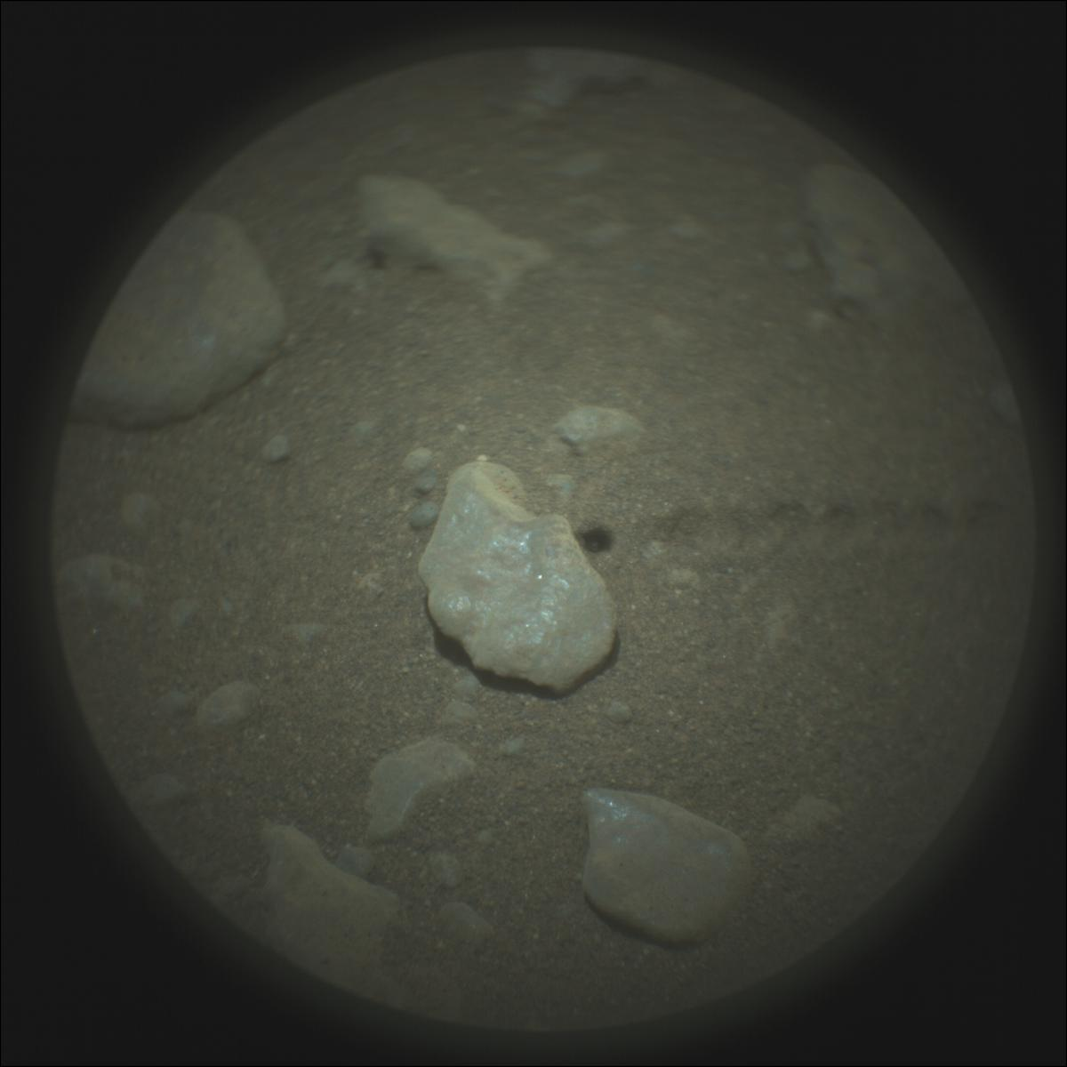 This image was taken by SUPERCAM_RMI onboard NASA's Mars rover Perseverance on Sol 116