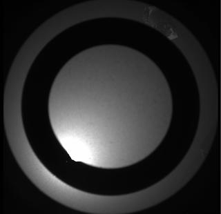View image taken on Mars, Mars Perseverance Sol 117: SkyCam Camera