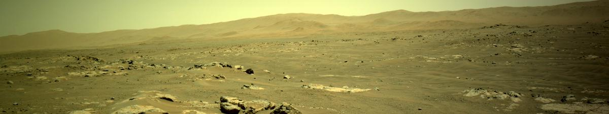 This image was taken by NAVCAM_LEFT onboard NASA's Mars rover Perseverance on Sol 117