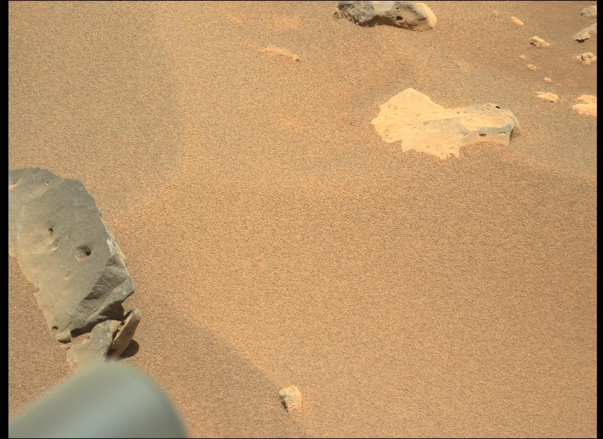 This image was taken by MCZ_LEFT onboard NASA's Mars rover Perseverance on Sol 117