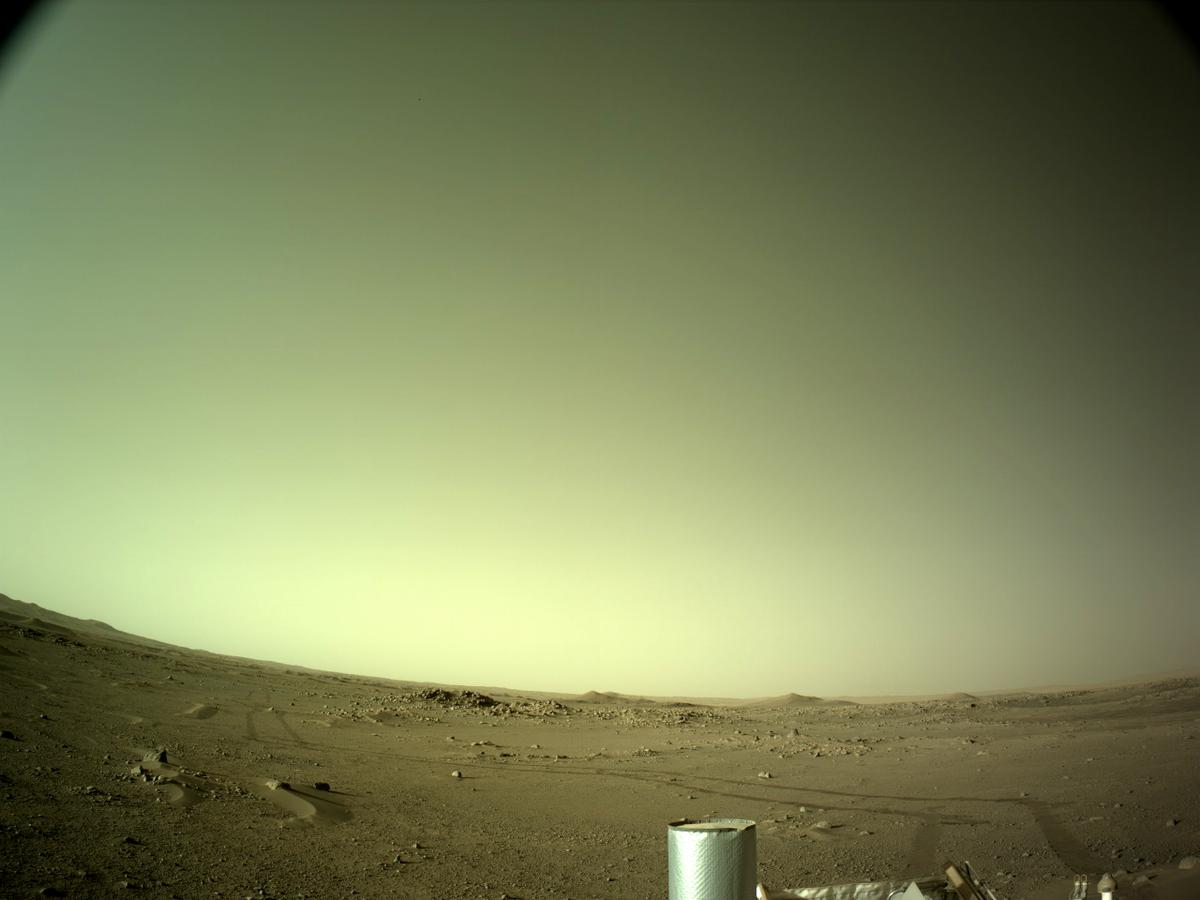 This image was taken by NAVCAM_LEFT onboard NASA's Mars rover Perseverance on Sol 118