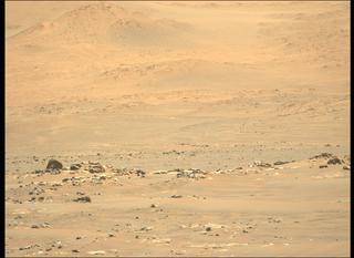 View image taken on Mars, Mars Perseverance Sol 118: Left Mastcam-Z Camera