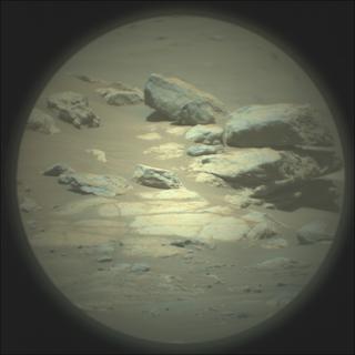 View image taken on Mars, Mars Perseverance Sol 119: SuperCam Camera