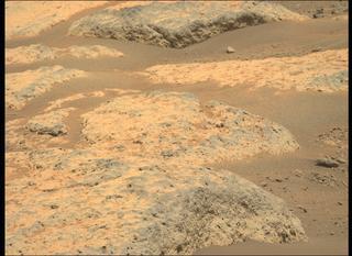 View image taken on Mars, Mars Perseverance Sol 119: Left Mastcam-Z Camera