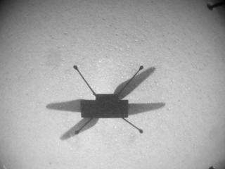 View image taken on Mars, Mars Helicopter Sol 120: Navigation Camera