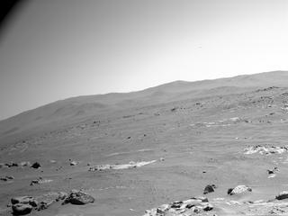 View image taken on Mars, Mars Perseverance Sol 120: Left Navigation Camera (Navcam)