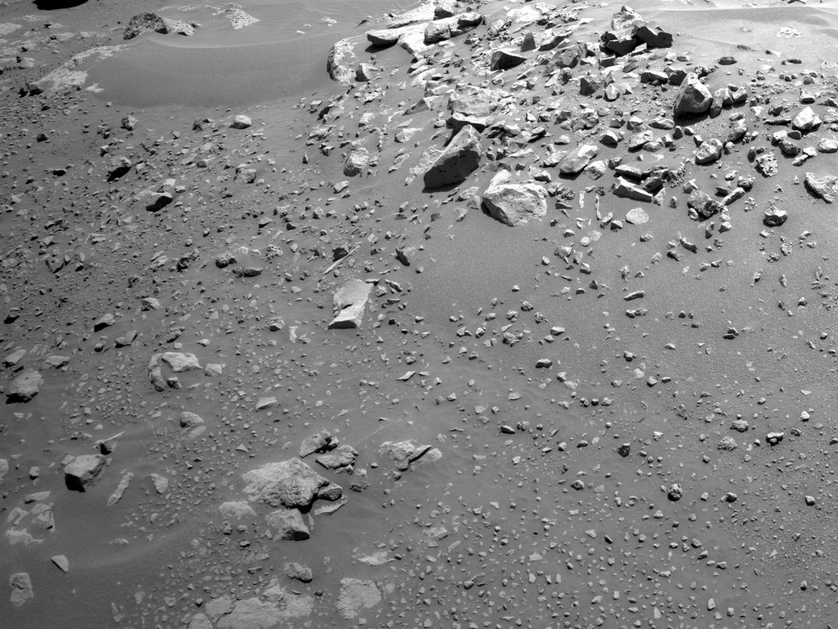 This image was taken by NAVCAM_LEFT onboard NASA's Mars rover Perseverance on Sol 120