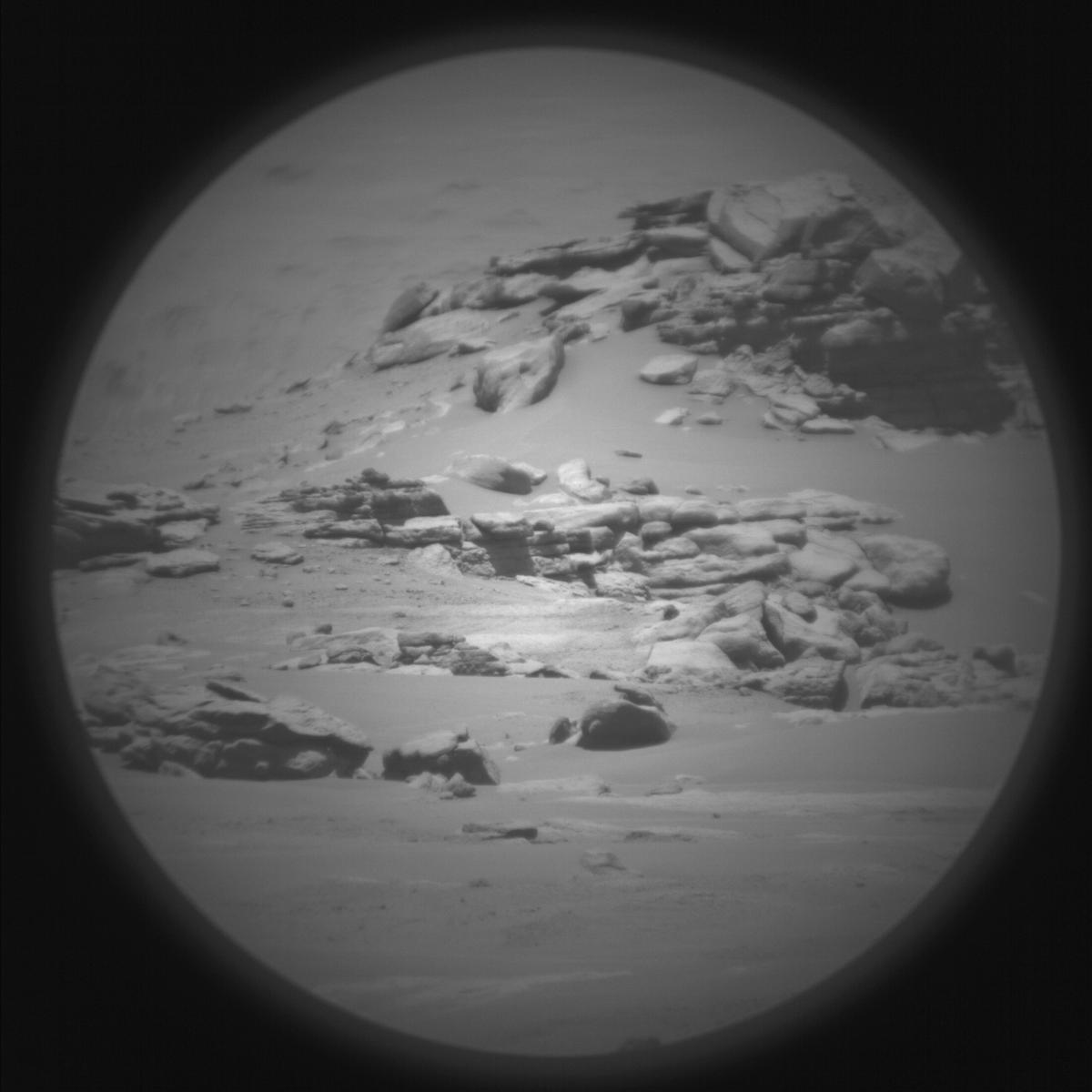 This image was taken by SUPERCAM_RMI onboard NASA's Mars rover Perseverance on Sol 120