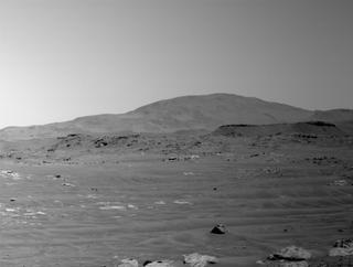 View image taken on Mars, Mars Perseverance Sol 121: Left Navigation Camera (Navcam)