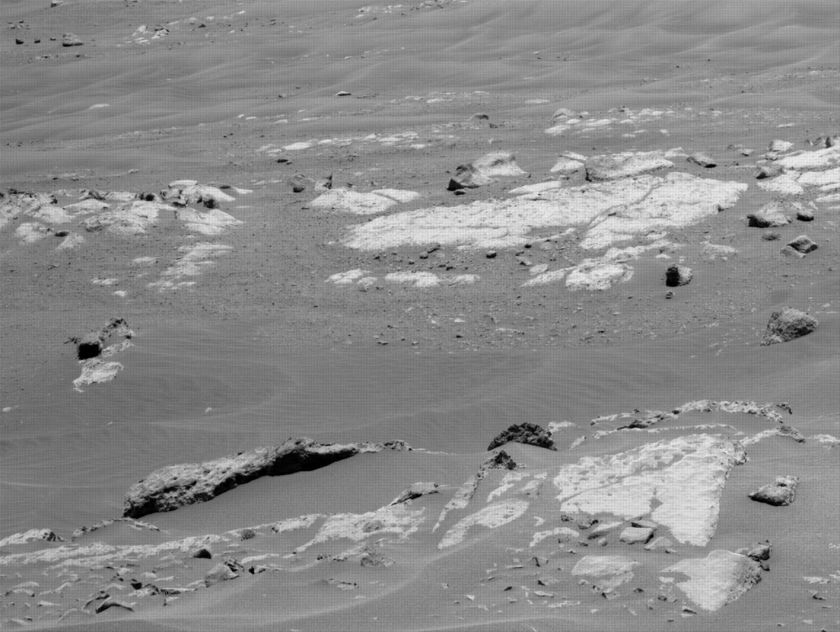 This image was taken by NAVCAM_LEFT onboard NASA's Mars rover Perseverance on Sol 121