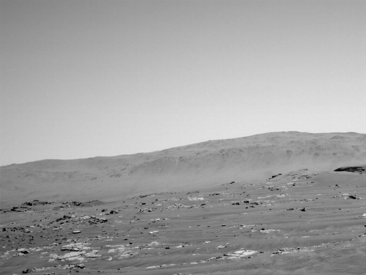 This image was taken by NAVCAM_RIGHT onboard NASA's Mars rover Perseverance on Sol 121