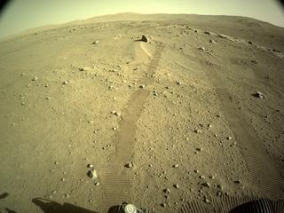 View image taken on Mars, Mars Perseverance Sol 122: Left Navigation Camera (Navcam)