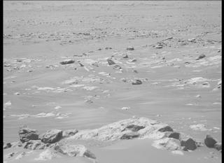View image taken on Mars, Mars Perseverance Sol 122: Left Mastcam-Z Camera