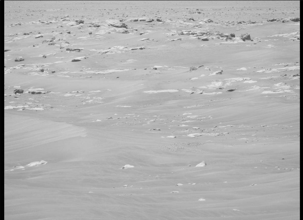 This image was taken by MCZ_LEFT onboard NASA's Mars rover Perseverance on Sol 122