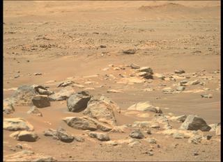 View image taken on Mars, Mars Perseverance Sol 122: Right Mastcam-Z Camera