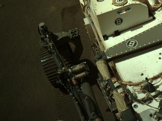 View image taken on Mars, Mars Perseverance Sol 127: Left Navigation Camera (Navcam)