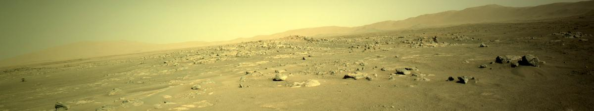 This image was taken by NAVCAM_LEFT onboard NASA's Mars rover Perseverance on Sol 127