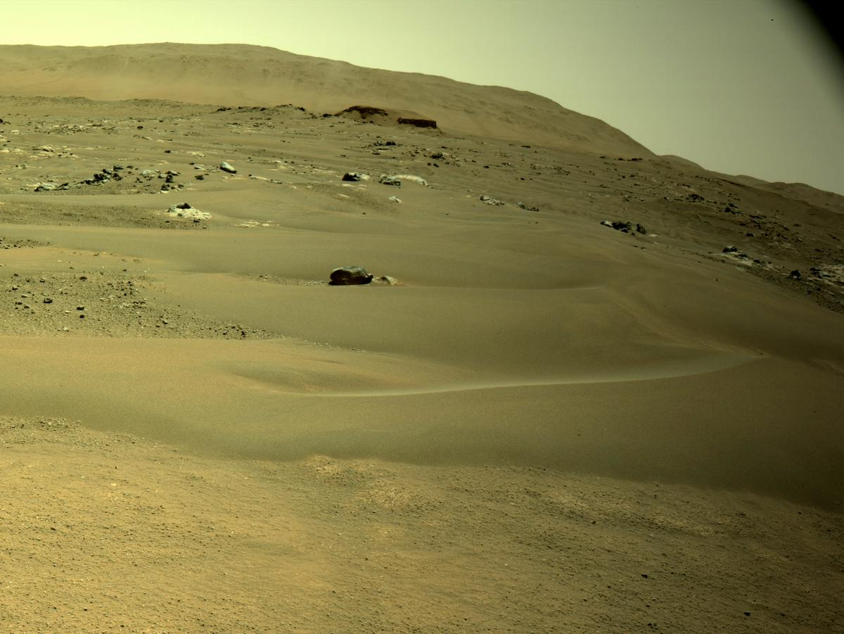 This image was taken by NAVCAM_RIGHT onboard NASA's Mars rover Perseverance on Sol 127