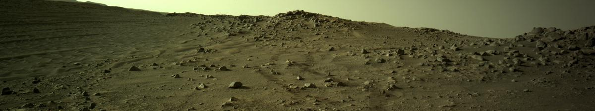 This image was taken by NAVCAM_LEFT onboard NASA's Mars rover Perseverance on Sol 136