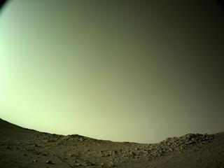 View image taken on Mars, Mars Perseverance Sol 136: Left Navigation Camera (Navcam)