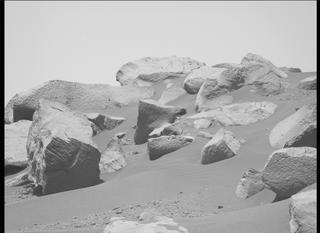 View image taken on Mars, Mars Perseverance Sol 136: Left Mastcam-Z Camera