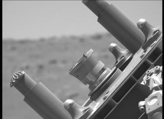View image taken on Mars, Mars Perseverance Sol 142: Left Mastcam-Z Camera
