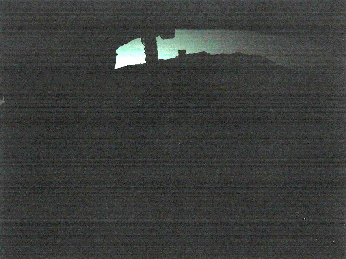 This image was taken by FRONT_HAZCAM_LEFT_A onboard NASA's Mars rover Perseverance on Sol 144