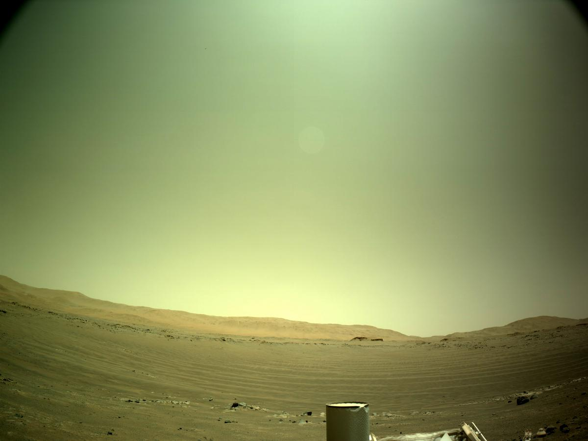 This image was taken by NAVCAM_LEFT onboard NASA's Mars rover Perseverance on Sol 144