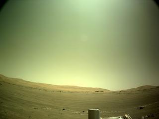 View image taken on Mars, Mars Perseverance Sol 144: Left Navigation Camera (Navcam)