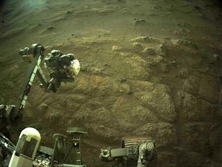 View image taken on Mars, Mars Perseverance Sol 144: Right Navigation Camera (Navcam)