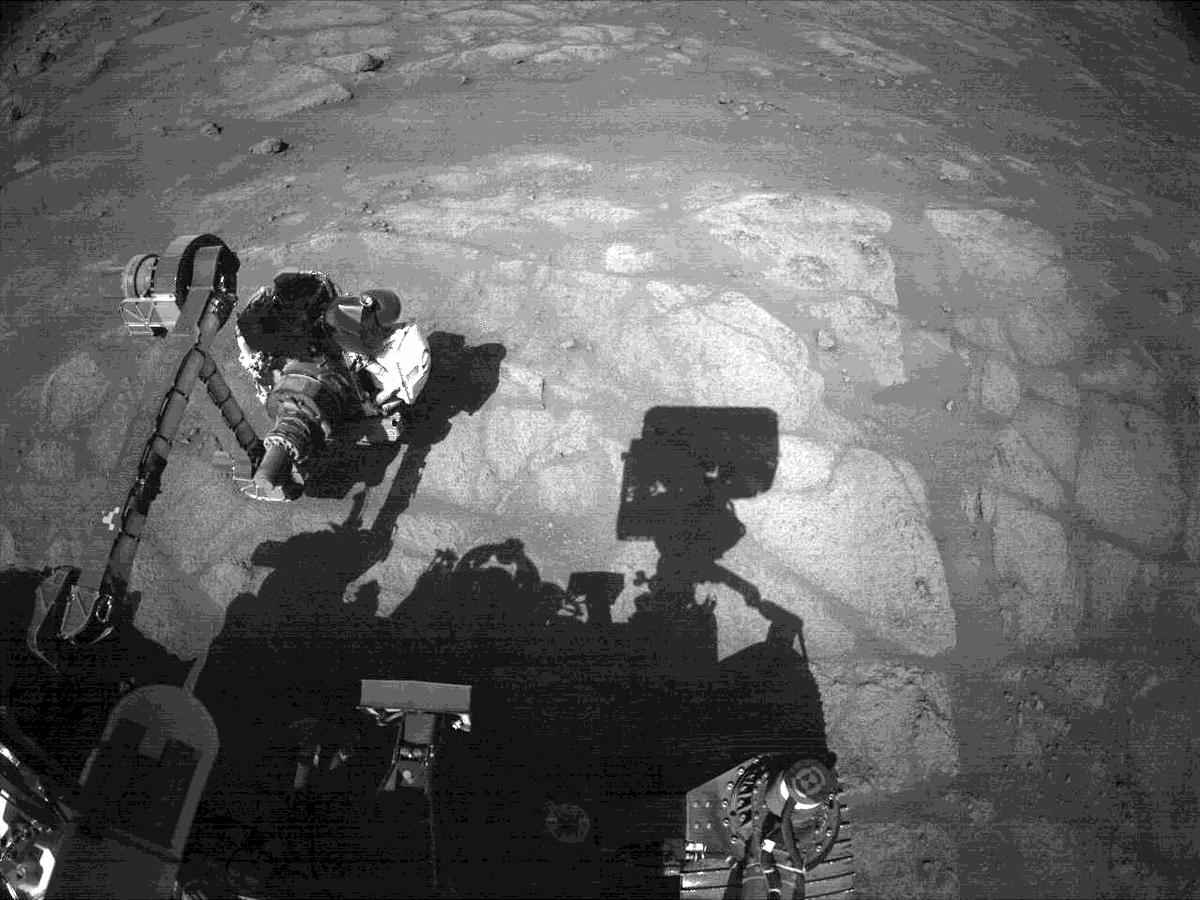 This image was taken by NAVCAM_RIGHT onboard NASA's Mars rover Perseverance on Sol 144