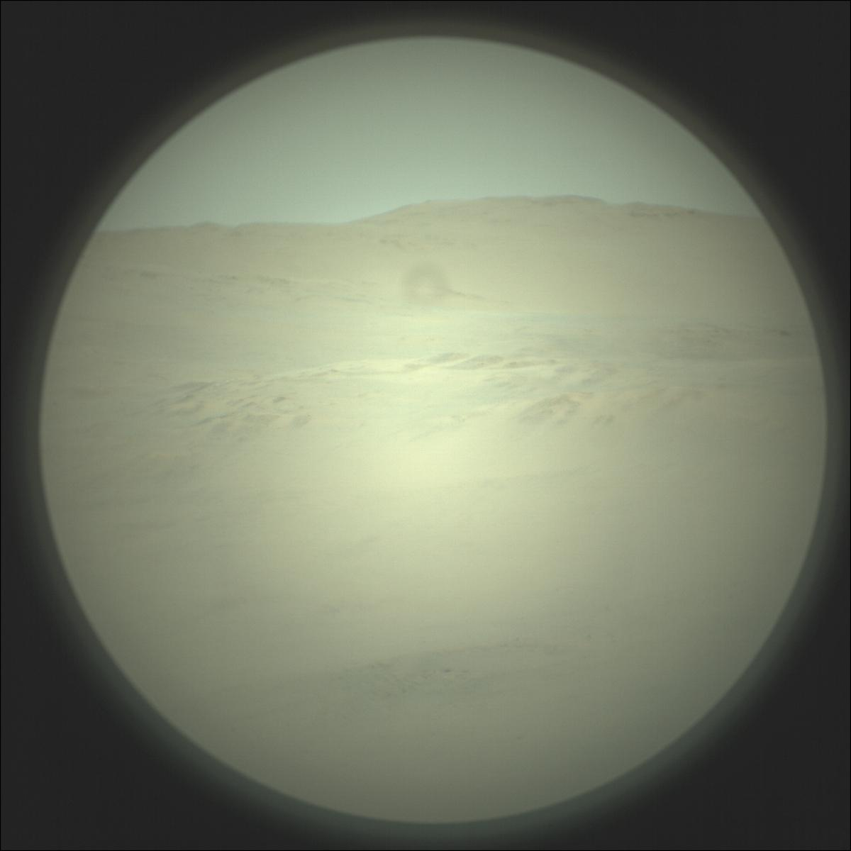 This image was taken by SUPERCAM_RMI onboard NASA's Mars rover Perseverance on Sol 144