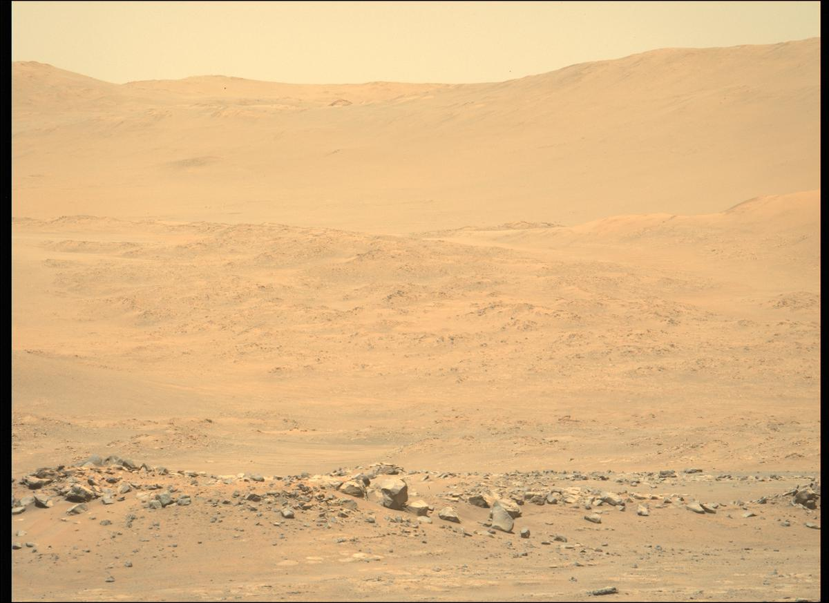 This image was taken by MCZ_LEFT onboard NASA's Mars rover Perseverance on Sol 144