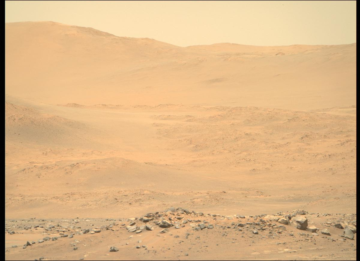 This image was taken by MCZ_RIGHT onboard NASA's Mars rover Perseverance on Sol 144