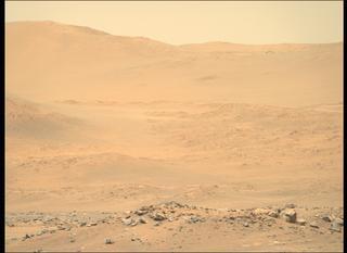 View image taken on Mars, Mars Perseverance Sol 144: Right Mastcam-Z Camera