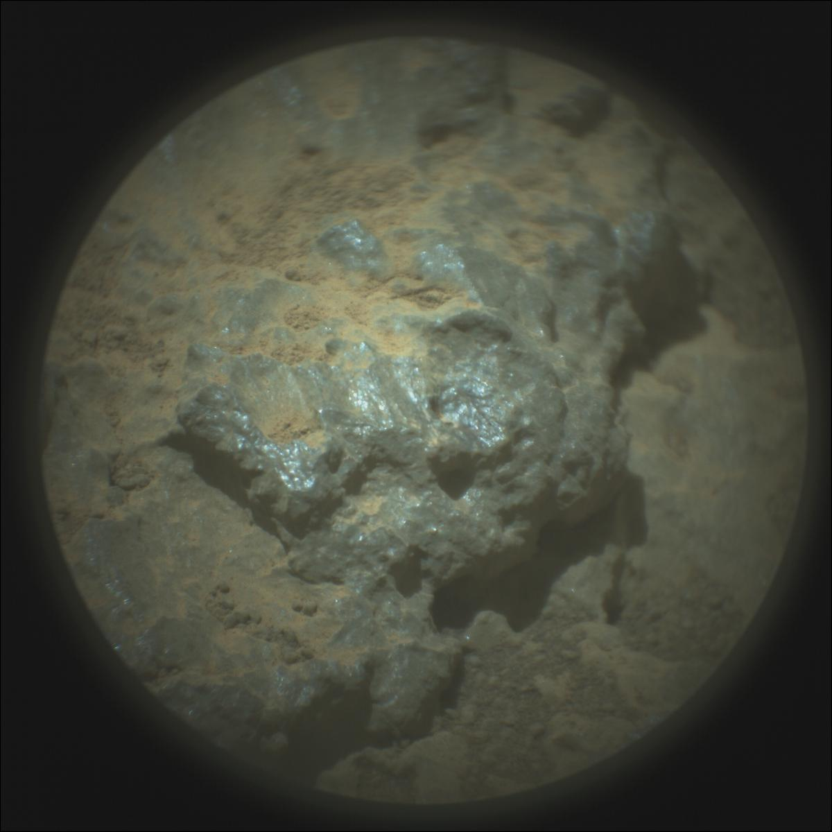 This image was taken by SUPERCAM_RMI onboard NASA's Mars rover Perseverance on Sol 145