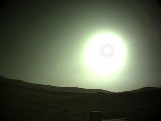 View image taken on Mars, Mars Perseverance Sol 146: Left Navigation Camera (Navcam)
