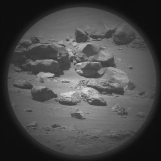 View image taken on Mars, Mars Perseverance Sol 146: SuperCam Camera