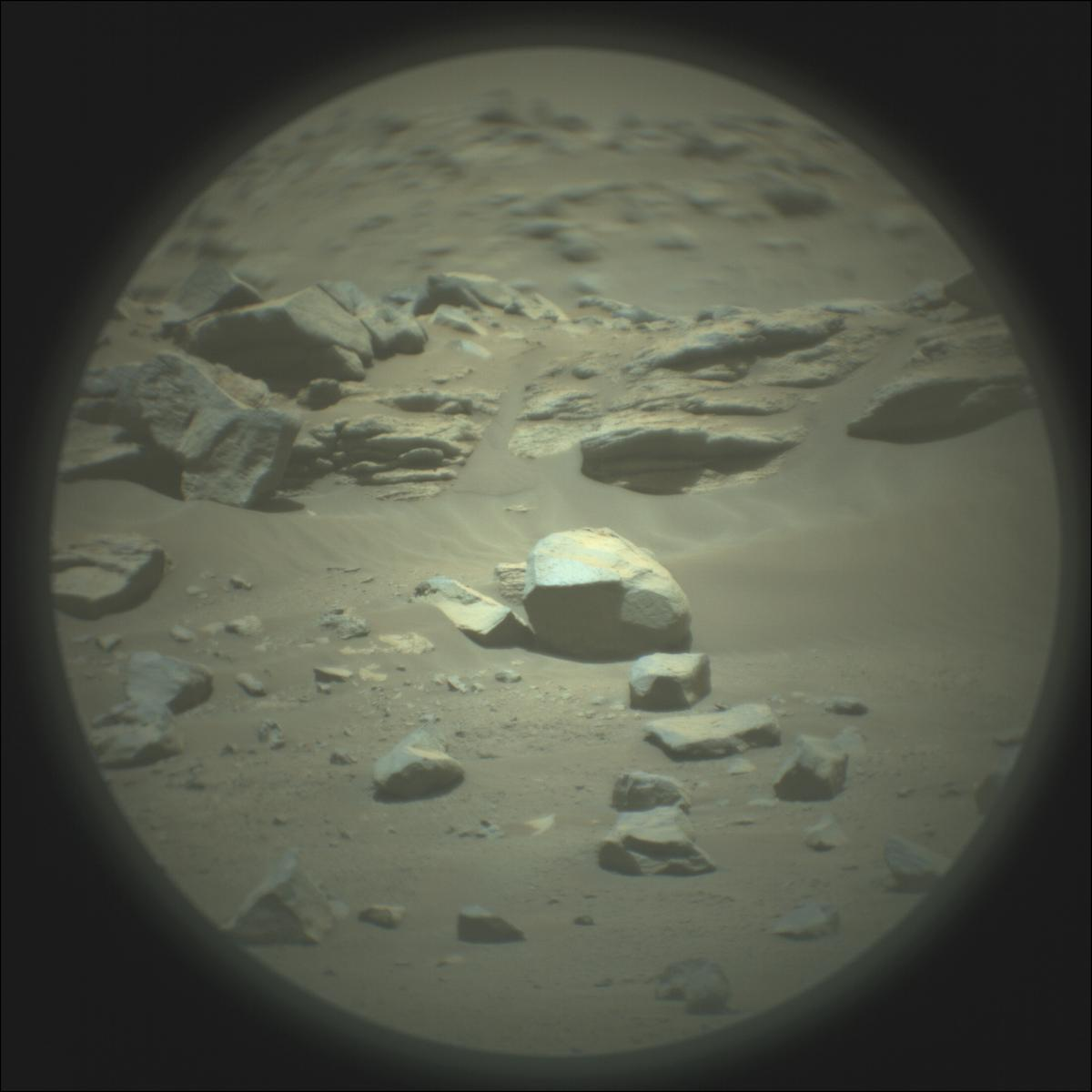 This image was taken by SUPERCAM_RMI onboard NASA's Mars rover Perseverance on Sol 146